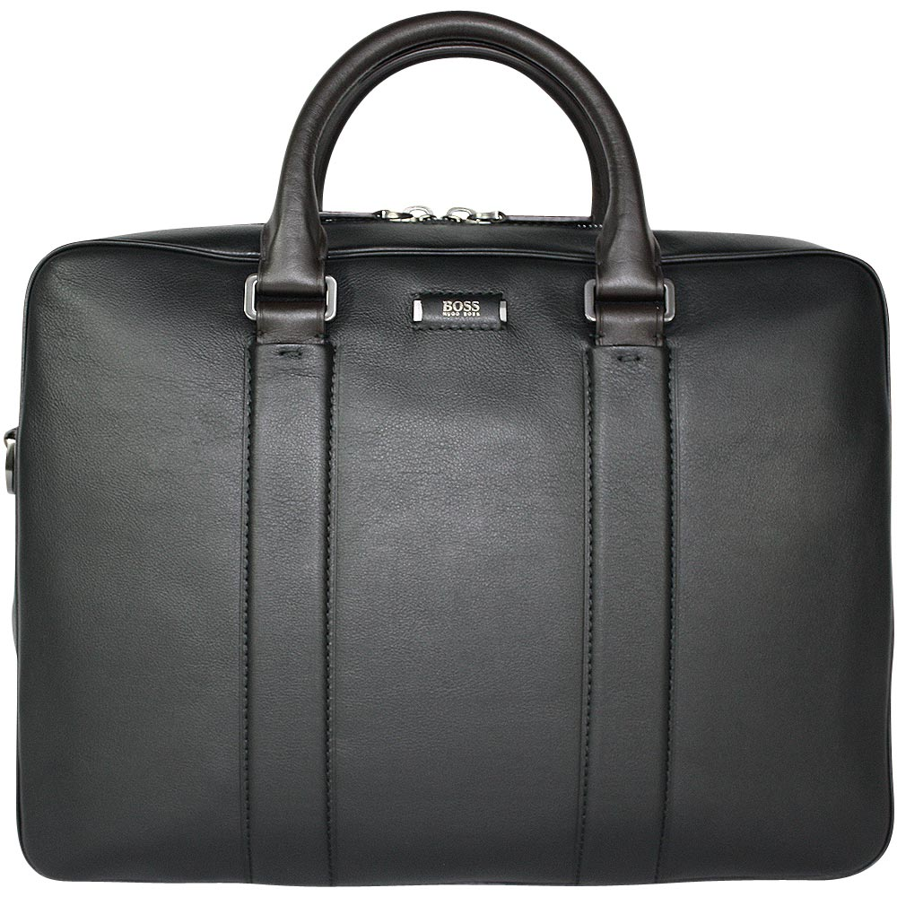 hugo boss business tasche jackson sdoc black ebay. Black Bedroom Furniture Sets. Home Design Ideas