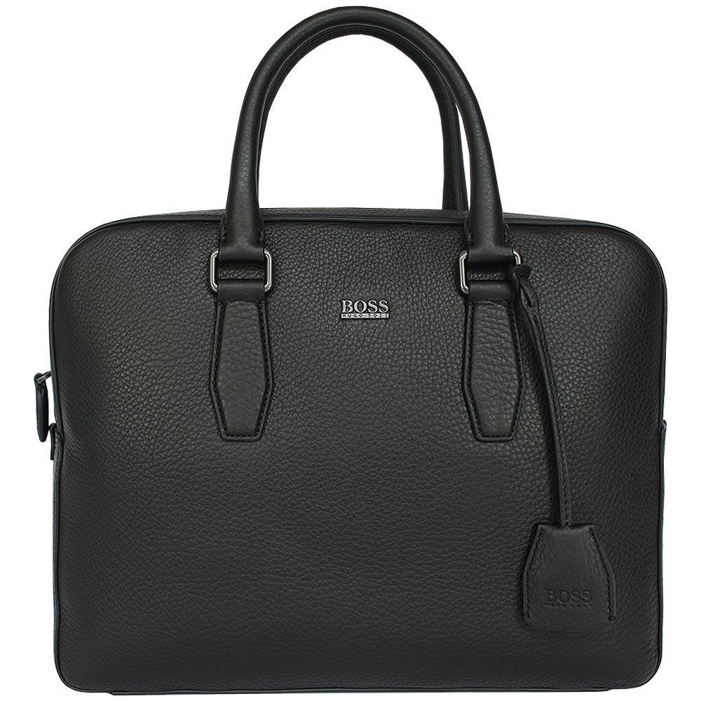hugo boss business tasche malton black ebay. Black Bedroom Furniture Sets. Home Design Ideas