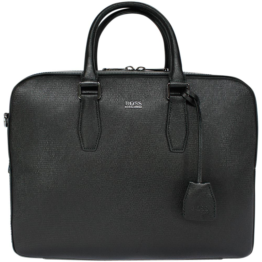 hugo boss business tasche sortic black ebay. Black Bedroom Furniture Sets. Home Design Ideas